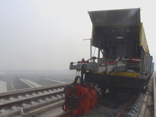 京滬高鐵施工