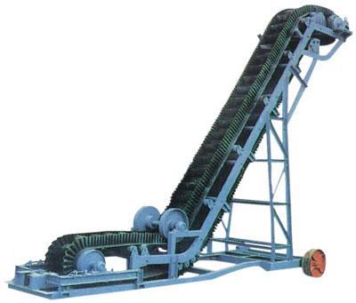 Large dip angle belt conveyor