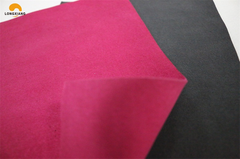 Breathable leather