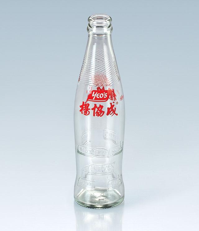 250ml二色印花瓶