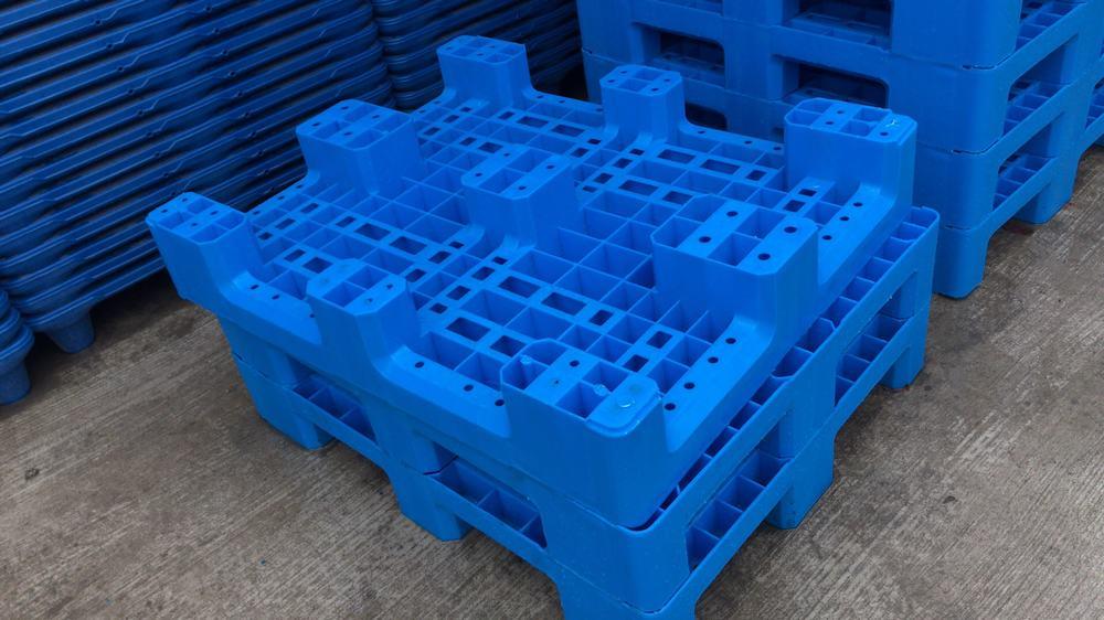網狀九腳塑料托盤 (1)