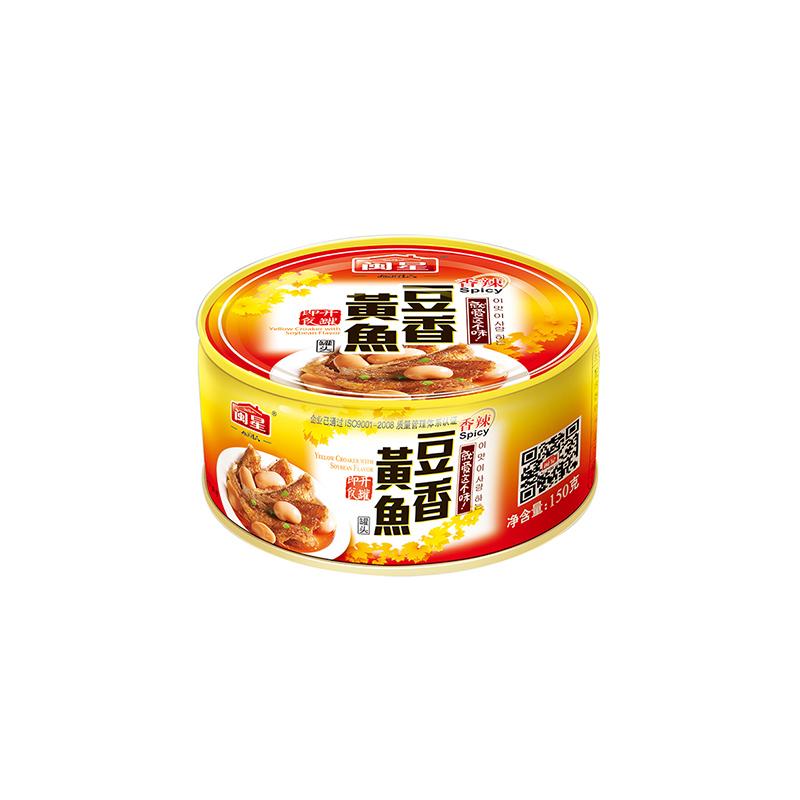 香辣豆香黃魚150g