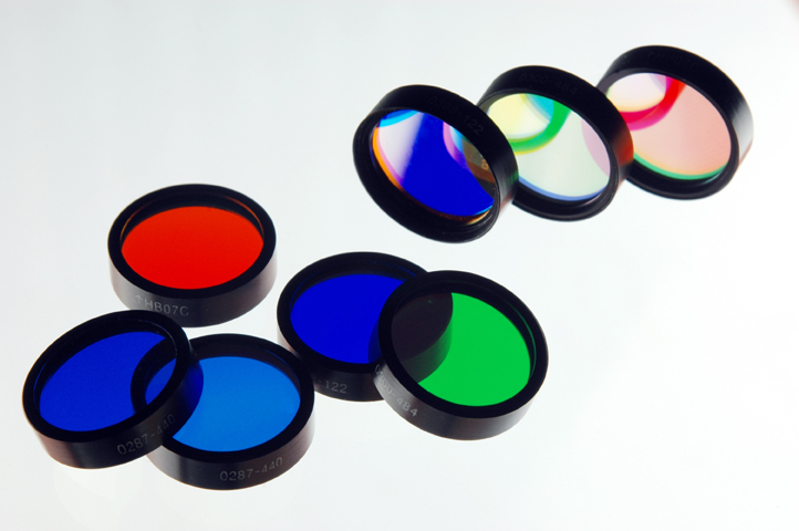 Filters for fluorescence microscope