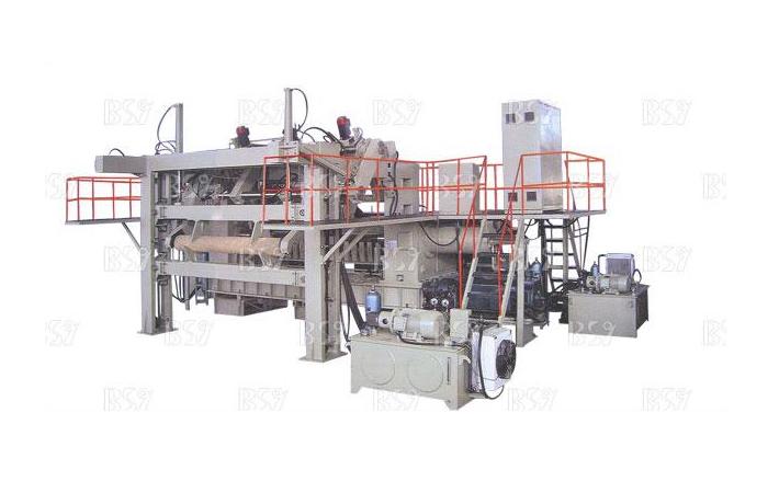 數控液壓雙卡軸旋切機BQK1626/8