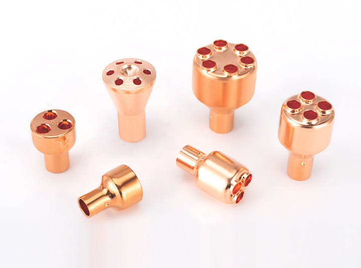 Copper spinning distributor