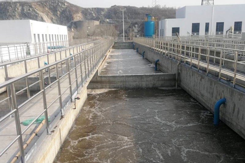 The project engineering design scale of Xinglong County Second Sewage Treatment Plant is 20 thousand cm3/day, and the total scale for long term is 35 thousand cm3/day.