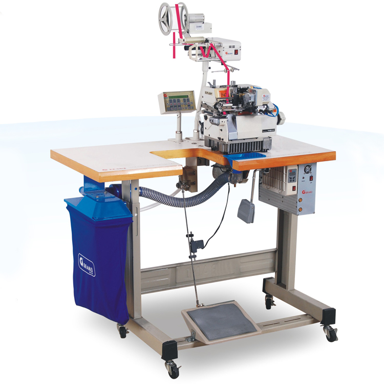 Microcomputer contrl (18 section) elastic metering & cutting tape device + Upper tape feeder + belt type motor