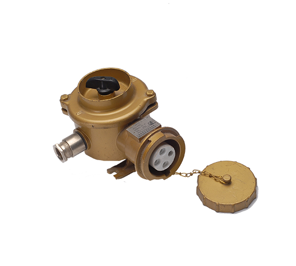 CZKS2-2/CZKS3-2 16A Marine brass high-current socket with switch