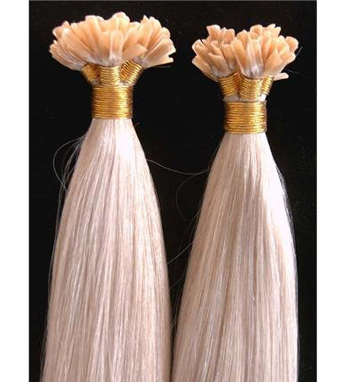 U-tip hair extensions