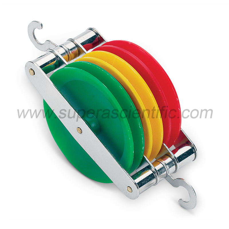 1607-3 Triple Colored Pulley