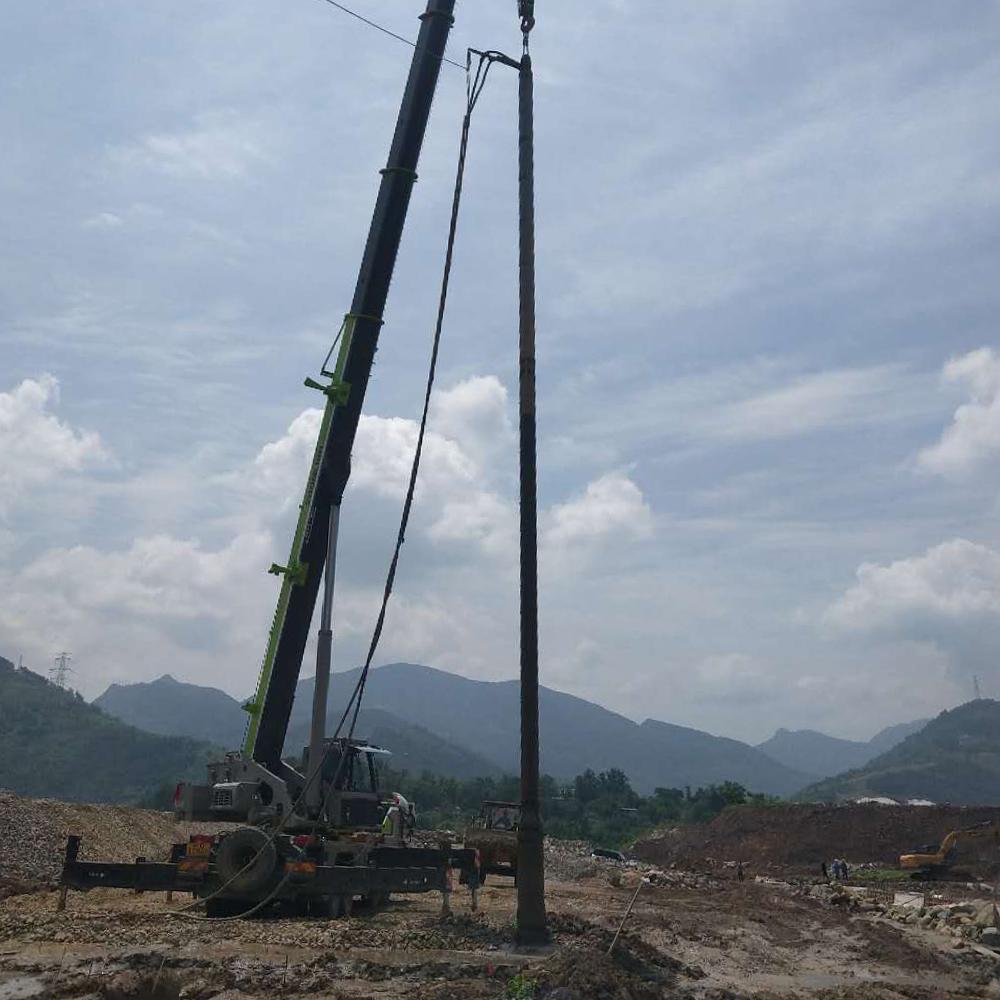 重慶萬州區密溪溝振沖碎石樁工程