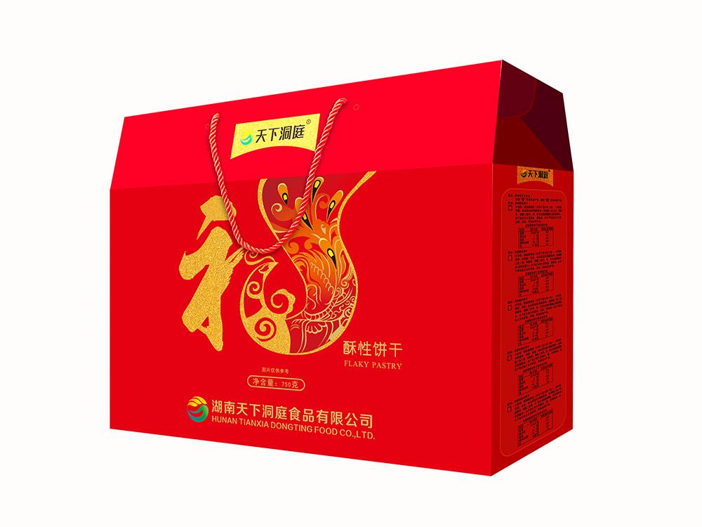750g酥性餅干大禮盒