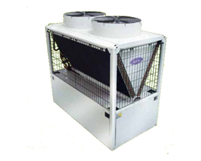 Modular air-cooled scroll liquid chiller/ reversible air-to-water heat pump