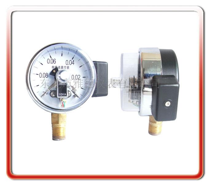 60MM徑向真空電接點壓力表