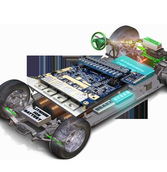 72V动力电池管理系统BMS