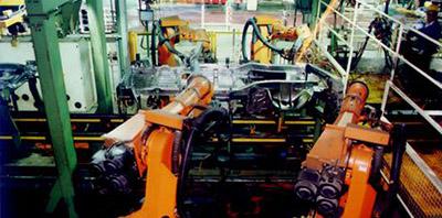 長安公司SC6350焊接生產線