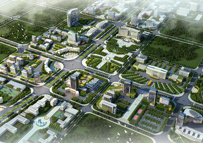 邵陽市高鐵新城沿線用地城市設計