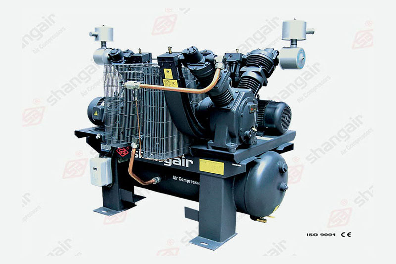 08VW Series Oilfree Air Compressor (Double-Engine Set)