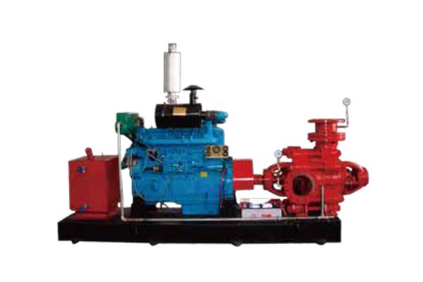 XBC-D 型臥式離心消防泵 (柴油機)
