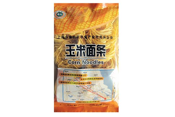 上海天然玉米面条