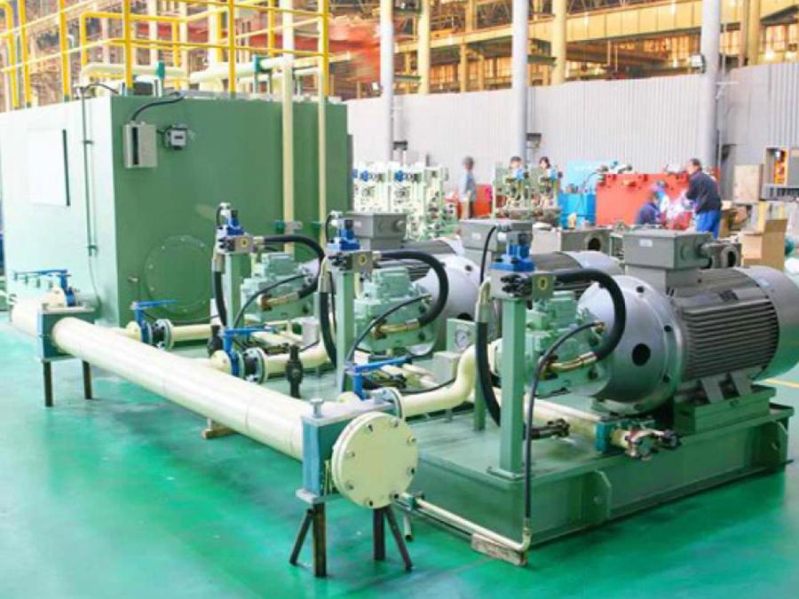 鋼管涂層線液壓控制系統
