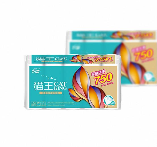 親柔平紋750克10卷