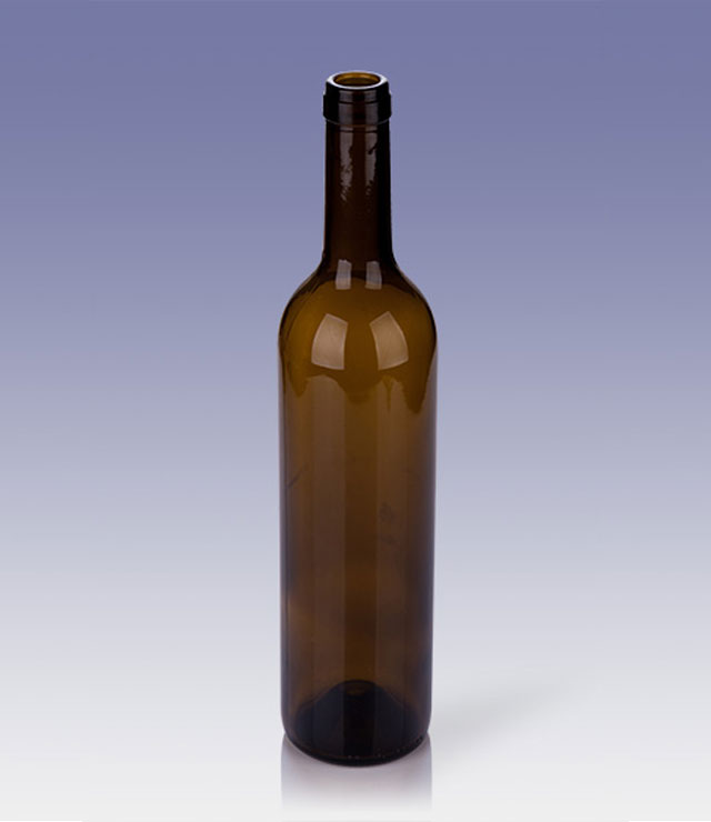 750ml high-respected burgundy bottle