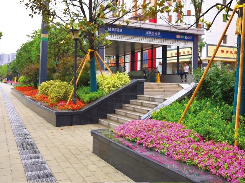 武漢軌道交通6號線景觀