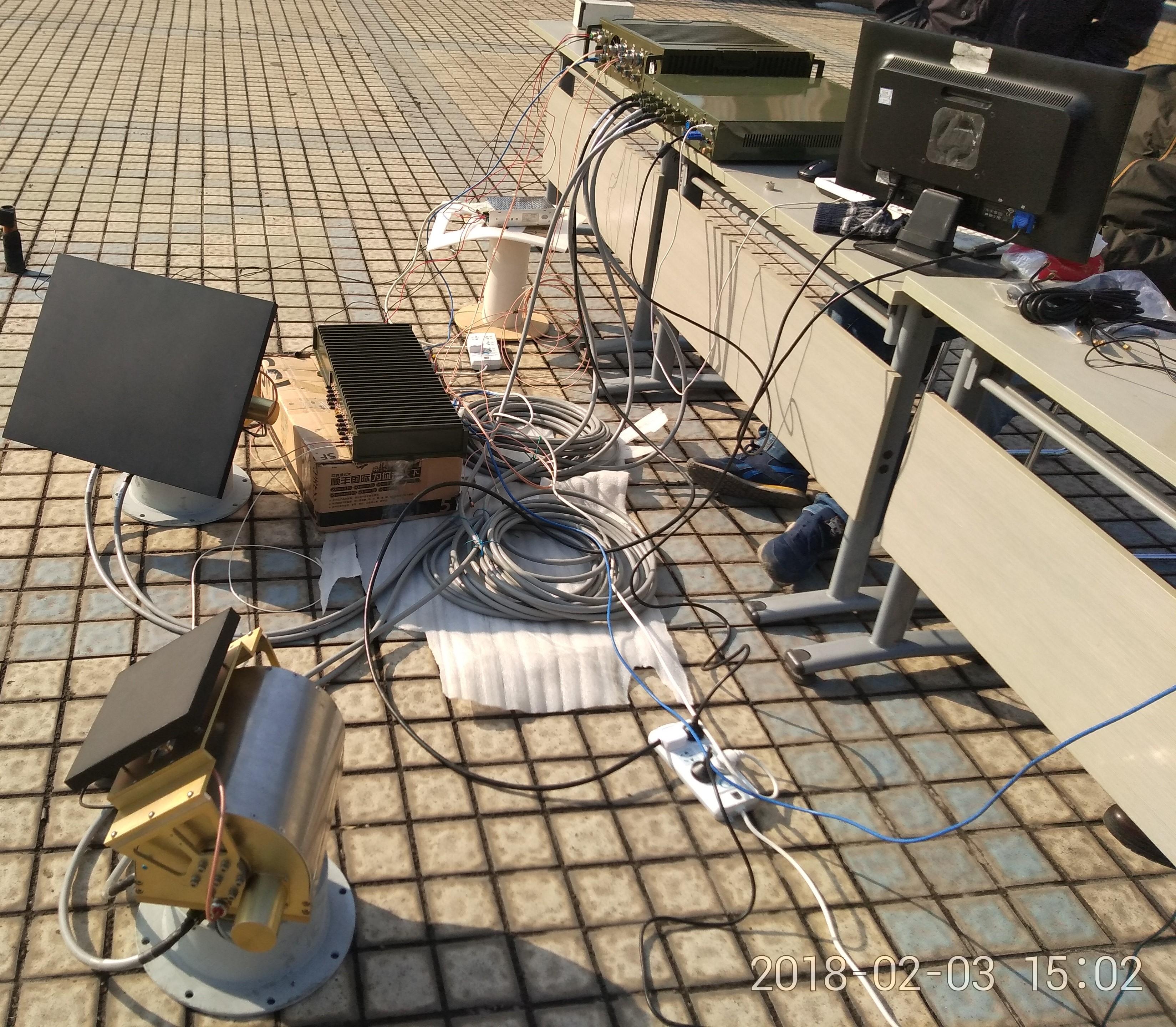 车载卫星接收站天伺跟系统设备