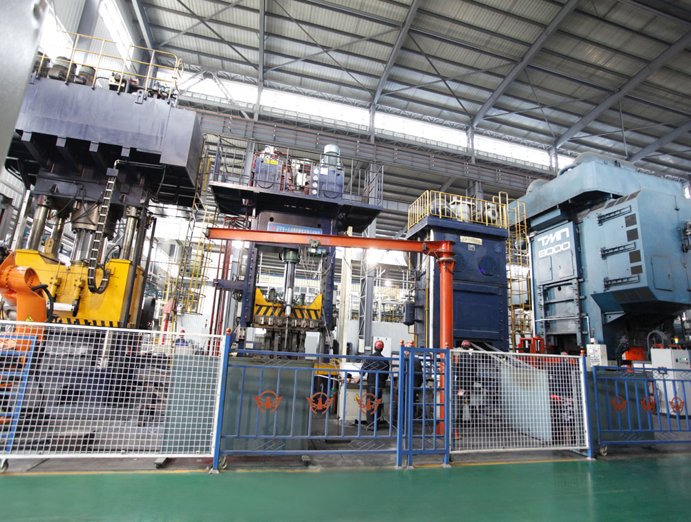 8000 ton die forging production line