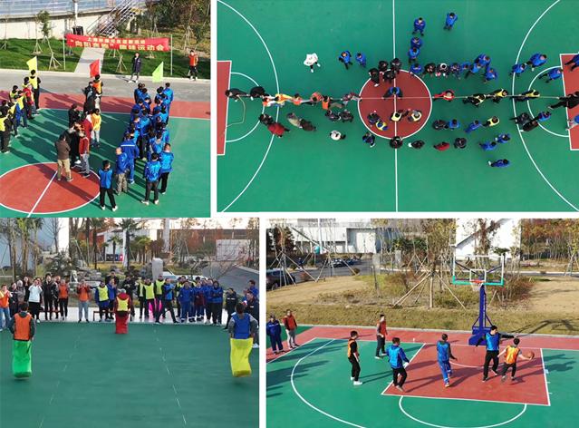 庄博亚洲官网环保集团工会举办2021年元旦迎新活动