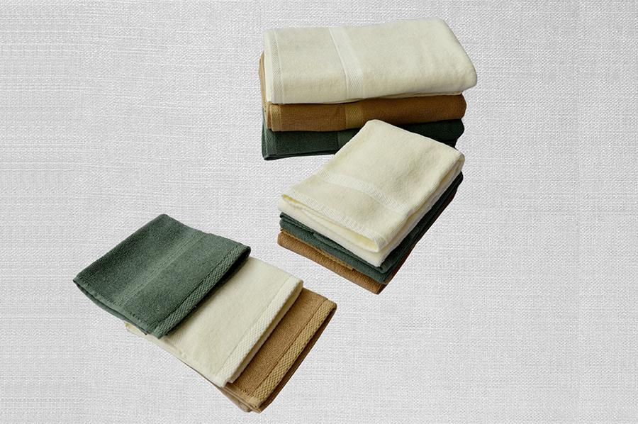 素色緞檔緞邊三件套