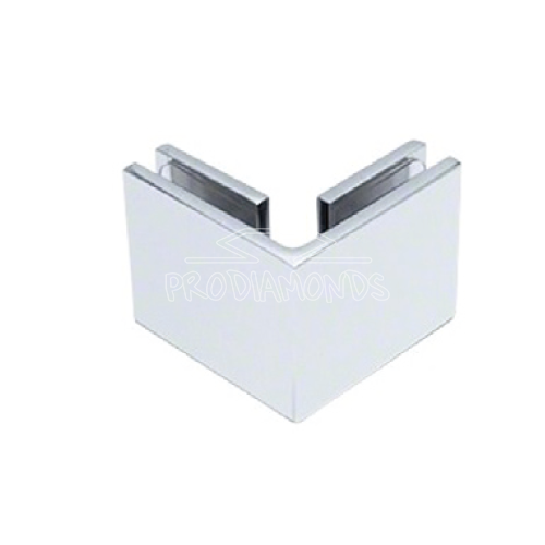HEAVY-DUTY SQUARE GLASS TO GLASS 90 DEGREE CLAMP