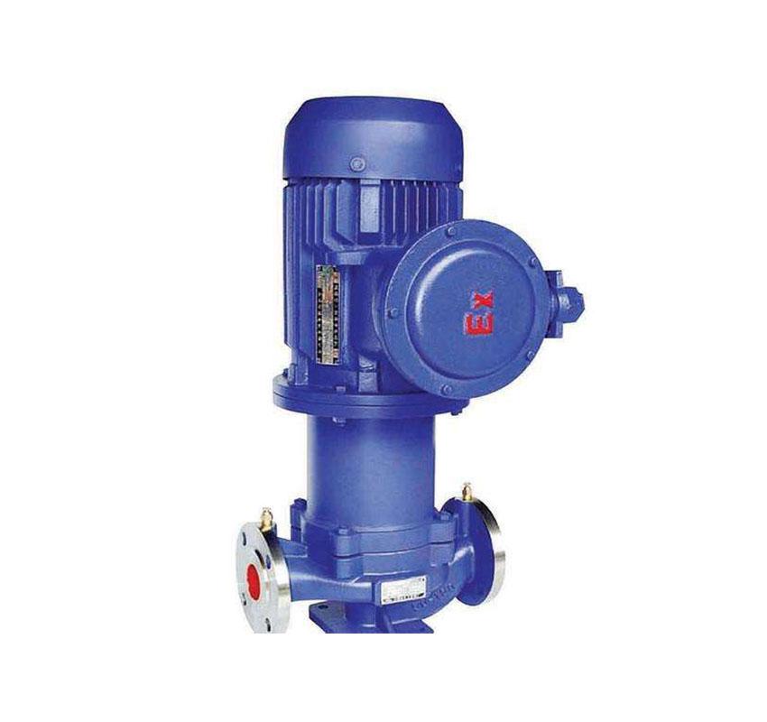 CQL不銹鋼立式磁力驅動管道泵