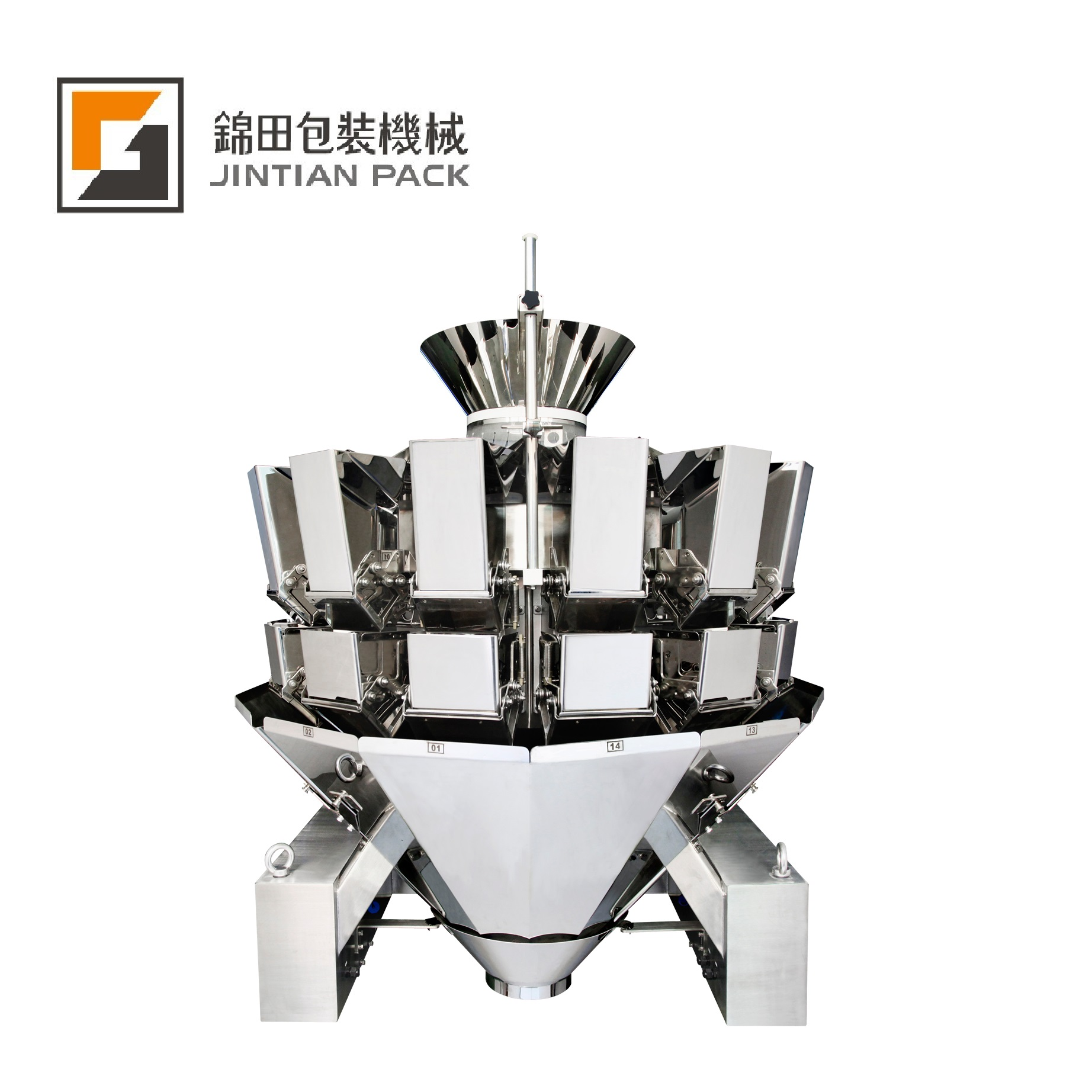 JT-14 14 heads weigher