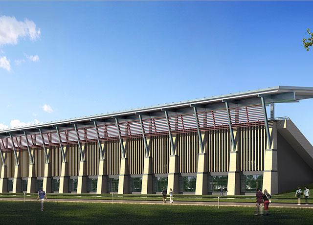 澳门大学新校区发展新项目体育馆