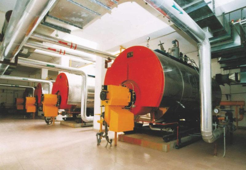深圳市龙飞纺织工业有限责任公司锅炉安装工程