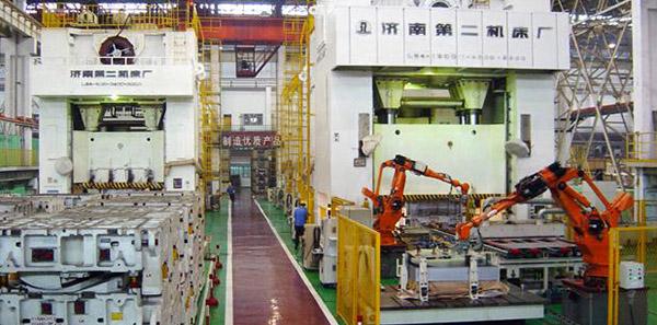 三工廠沖壓生產線