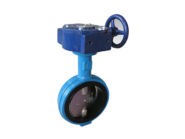 A-typed hard seat double shaft boltless butterfly valve