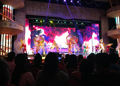 110SQM P3.91 Indoor Rental Led Screen in China