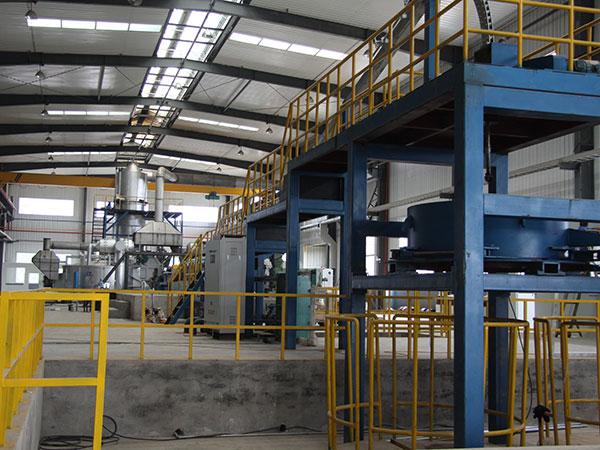 铝连铸连轧生产线
