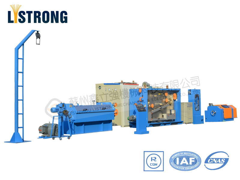 17DCT (17DC+270T+WS630) Intermediate Copper Wire Drawing Machine with Annealer