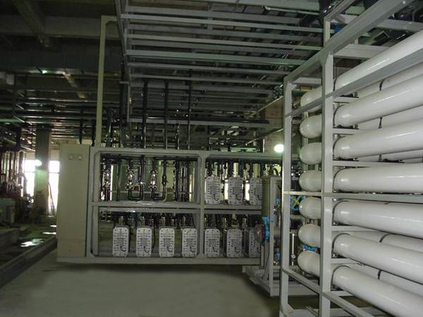 半導體行業產品清洗用超純水設備