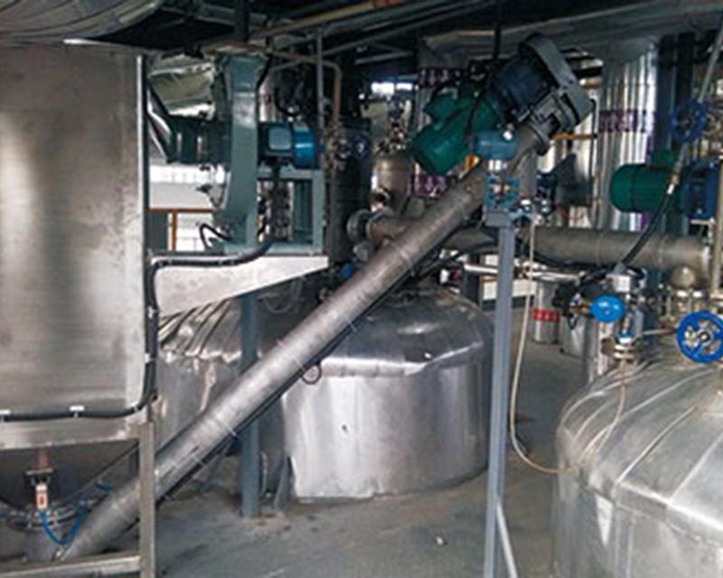 反應釜熱鍋自動投料裝置