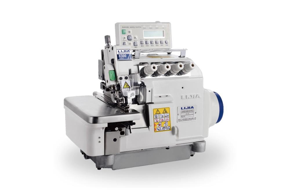 L8300D-7/P 超高速全自动剪线平台式包缝系列