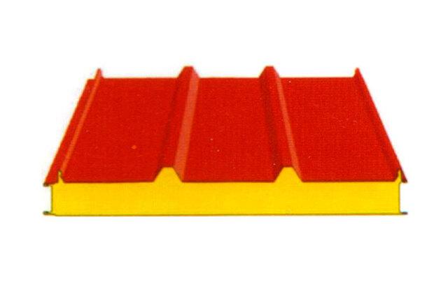 960型彩钢岩棉夹心屋面板