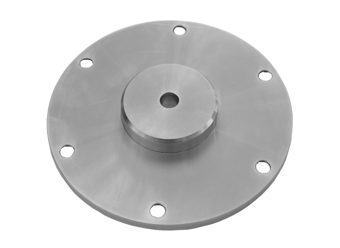 Flange parts with plating