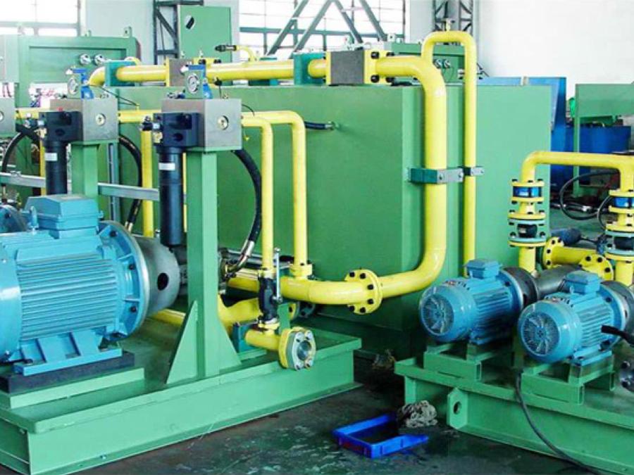寶鋼鋼管廠特殊扣液壓系統