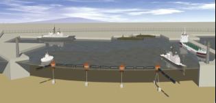 气囊式水面防护拦阻系统