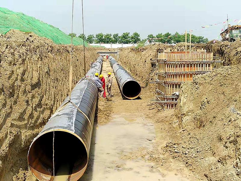 河南能源化工永城園區地下管網工程